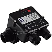 Agora-Tec Pumpen Druckschalter AT-DW-10 unverkabelt zur Pumpensteuerung für Kreisel-, Tauch- Tiefbrunnenpumpen mit Betriebsdruck von 10 bar, AT 003 001 005
