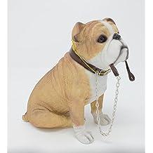 Leonardo estudios de perro Bulldog Inglés en blanco y marrón decorativa para celebración de plomo de