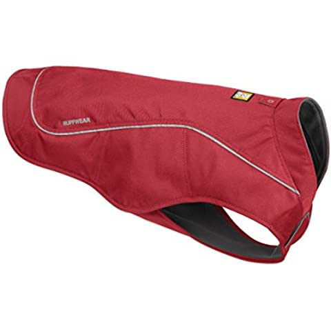 Ruffwear - K-9 Overcoat (Abrasion-Resistant Insulated Jacket), Cinder Cone Red