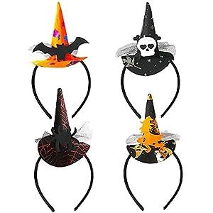 Diademas de Halloween Hilloly 4