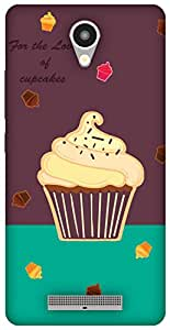 The Racoon Lean Cupcakes hard plastic printed back case / cover for Xiaomi Redmi Note 2
