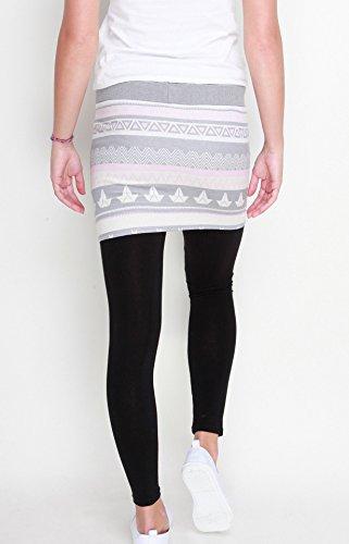 Skirt JOLL Dark Ash/Beige Grau