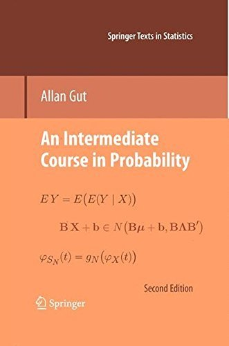 An Intermediate Course in Probability (Springer Texts in Statistics) by Allan Gut (2014-10-30)