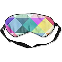 Comfortable Sleep Eyes Masks Geometric Printed Sleeping Mask For Travelling, Night Noon Nap, Mediation Or Yoga preisvergleich bei billige-tabletten.eu