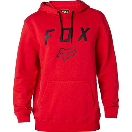 Fox Hoody Legacy Moth Dunkelrot