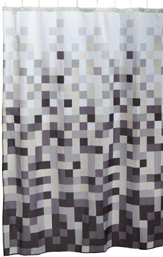 Sealskin Duschvorhang Model Pixel (zwart/black) thumbnail