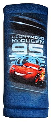 Disney Cars CAKFZ446 'HiTS4KiDS' Cars 3 Gurtpolster, Bedruckt, Blau - Sicherheitsgurt Für Polster Kinder