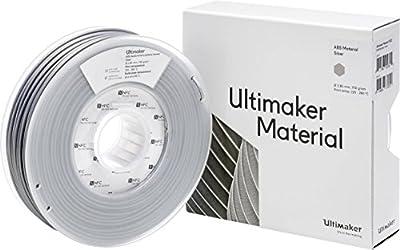 Ultimaker ABS - M2560 Silver 750 - 206127 Filament ABS 2.85 mm Silber 750 g