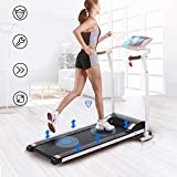 LONTEK Electric Treadmill Speeds Up To 1