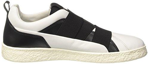Bikkembergs Best 956, Sneaker a Collo Basso Donna Bianco (White)