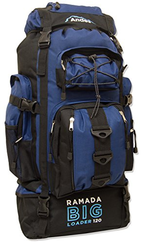 andes-navy-blue-ramada-120l-extra-large-hiking-camping-backpack-rucksack-luggage-bag
