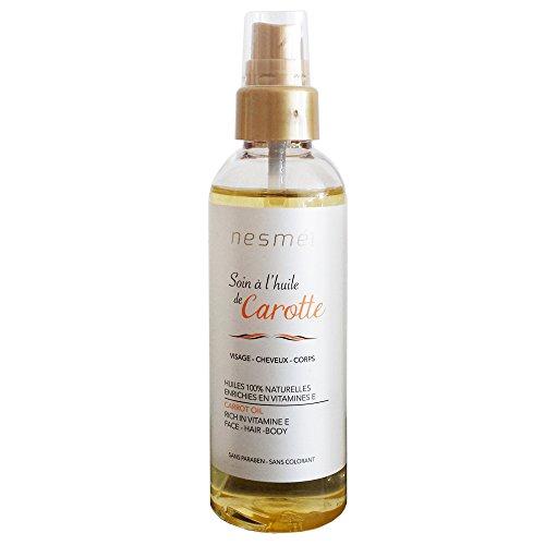 Nesmé Miss Eden - Soin à l'huile de Carotte - Visage - Cheveux - Corps - 100 ml