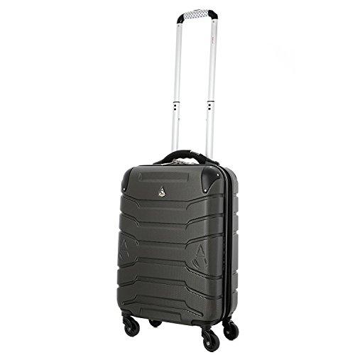 Aerolite auto pesa abs hard shell avanti mano valigia for Emirati limite di peso del bagaglio a mano