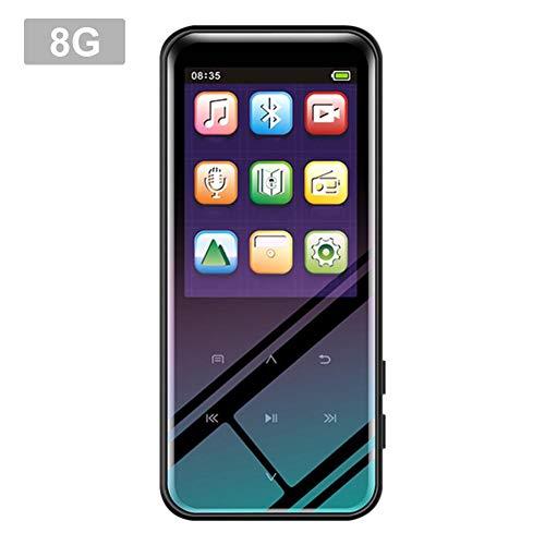 ningxiao586 2,4-Zoll-Touchscreen-MP3 / MP4-Player, 4/8 / 16GB extra Langer Standby-Aufnahme-MP3-Player mit verlustfreiem Sound und Musikkopfhörer inklusive (Player 16 Touchscreen Mp4 Gb)