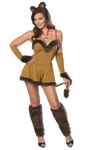 Weiblicher Löwe Kostüm Zauberer von - Zauberer Kostüm Weiblich