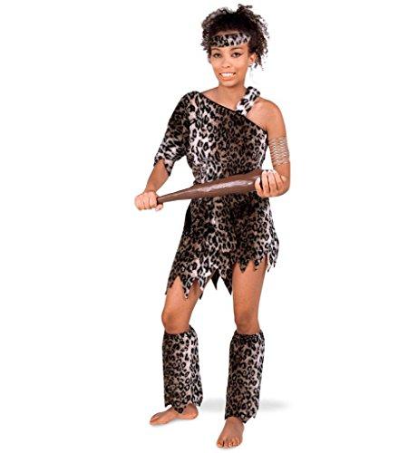 Kostüm Höhlenmensch Muster - Damenkostüm