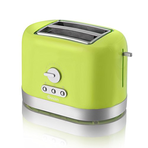 Swan ST10020LIMN 2-Slice Lime Green Toaster