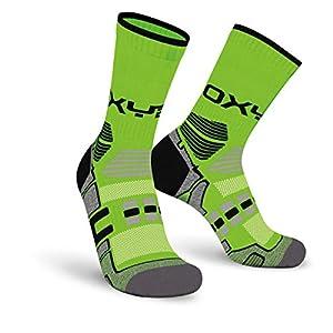 Oxyburn Herren Multisport Half-Cut S Socken