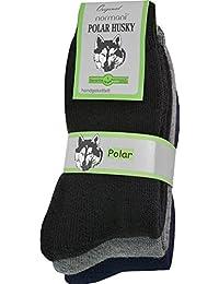 3 Paar Thermosocken Polar Husky® Socken. Super flauschige warme - Skisocken