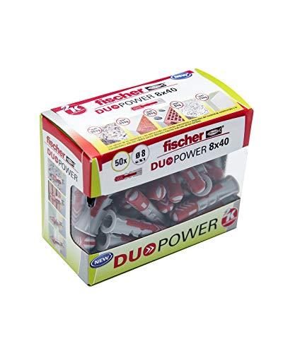 Fischer - Taco DuoPower 8x40 Caja de 50 Ud.