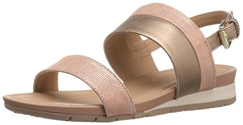 Geox Damen D Formosa C Slingback, Gold (Rose GOLDC8124), 39.5 EU