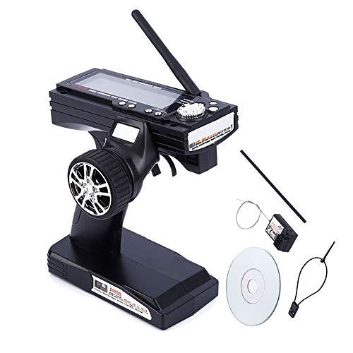 Alftek FS-GT3B 2.4G 3CH Sender Empfänger Radio Control 3 Kanäle für RC Auto Boot (Flugzeuge Radio Control)