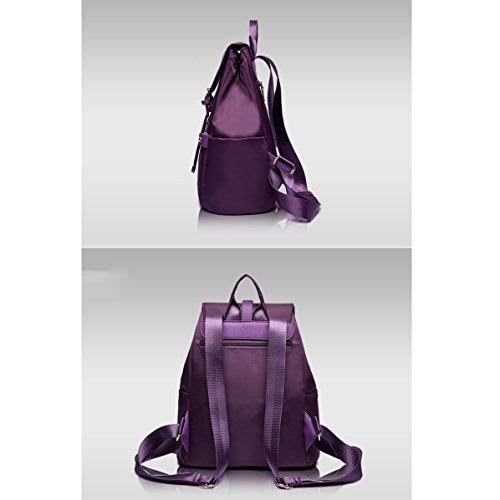 Versione coreana del sacchetto di stoffa di Oxford / sacchetto di spalla / zaino / sacchetto selvaggio semplice di corsa del sacchetto di modo / di modo universitario ( Colore : Viola ) Rose red