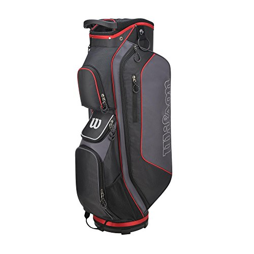 Wilson-Prostaff-Steel-Shafted-HDX-Irons-Graphite-Shafted-HDX-Woods-Super-Deluxe-Mens-Complete-Golf-Club-Set-Prostaff-BlackRed-Cart-Bag-Mens-Right-Hand-Limited-Edition-Only-available-from-The-Golf-Stor