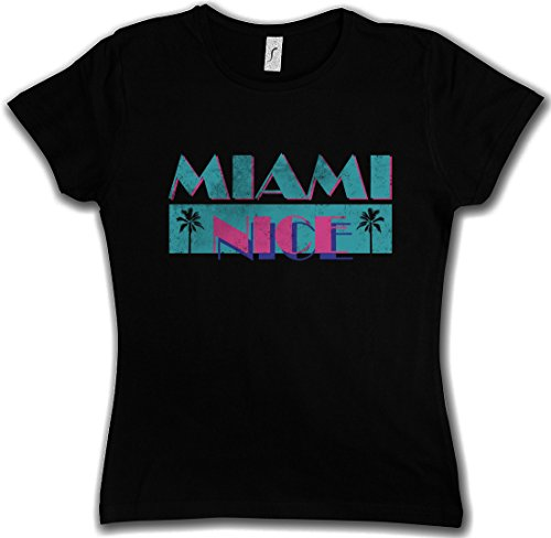 Women's Miami Nice Girlie Tee - S to XXL
