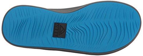 Reef Herren Rover Black/Blue Zehentrenner Mehrfarbig (Black/Blue Bku)