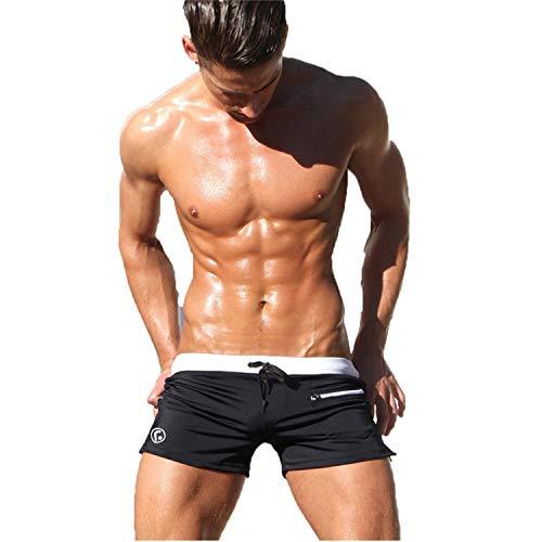 Preisvergleich Produktbild Quille T-Shirt für Herren,  atmungsaktiv,  Badeanzüge,  Boxershorts,  Sunga,  Badeanzüge,  Maillot De Bain Strand Shorts IDPAS