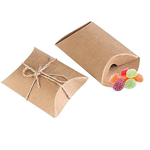bindex-scatole-regalo-50-pezzi-scatole-di-carta-kraft-naturale-cuscino-per-la-festa-nuziale-vintage-