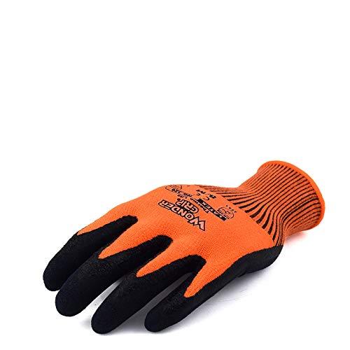 YDOZ Anti-Flüssigstickstoff-Schutzhandschuhe Frostschutzhandschuhe Kältespeicher Trockeneis warme Handschuhe, niedrige Temperaturbeständigkeit, Korrosionsschutz (Edition : Cold and warm, Size : L) -