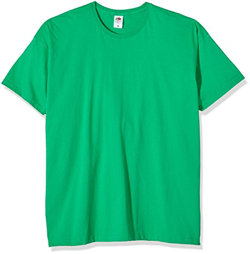 Fruit of the Loom Mens/Mädchen T-Shirt SS412 Green