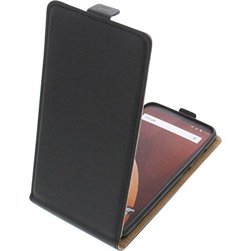 Tasche für Wiko View Prime Smartphone Flipstyle Schutz Hülle schwarz