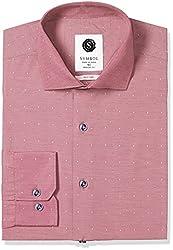 Symbol Men's Formal Dobby Regular Fit Shirt