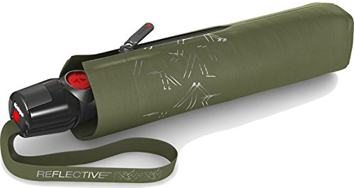 Knirps T.200 Medium Duomatic Reflectives Olive -