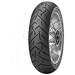 Pirelli 2526900 Scorpion Trail II Rear Tire - 130/80 R-17, Position: Rear, Rim Size: 17, Tire Application: Touring, Tire Size: 130/80-17, Tire Type: Street, Load Rating: 65, Speed Rating: V, Tire Cons