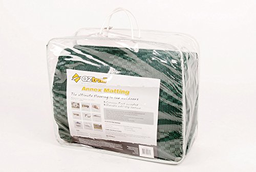 Get Oztrail – Annex Matting 2.5x6m carpet for your campsite (CTA-AM06-D) Inter-Locking Floor Mats, Breathable Easy Lock Floor Tiles, Interlocking floor camping garen caravan awning mats on Line