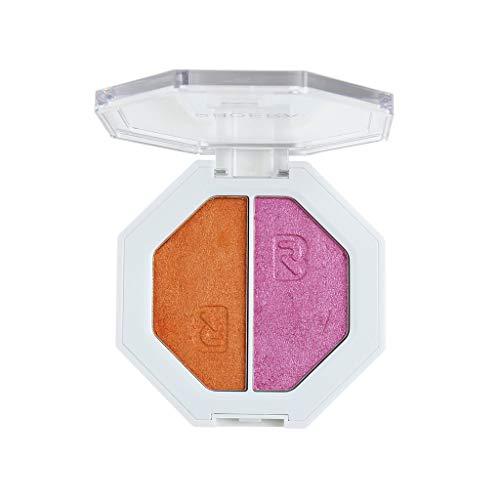 Beisoug Surligneur Bicolore PHOERA Maquillage Glitter Cream Ombre à Paupières Highlight Facial