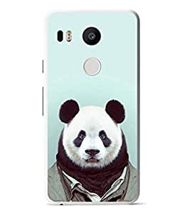 PrintVisa Designer Back Case Cover for Google 5X (Love Lovely Attitude Men Man Manly)