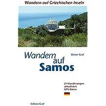 Wandern auf Samos: 25 Wanderwege GPS Daten