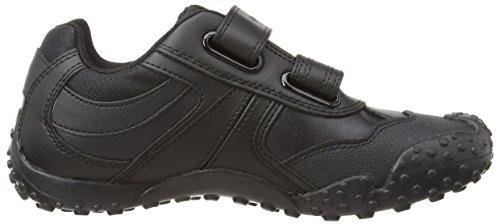 Geox J Giant, Jungen Sneakers Schwarz (Blackc9999)