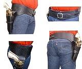 Western Colt Buscadero Holster + G�rtel (Schwarz) - Gr. M/L Bild