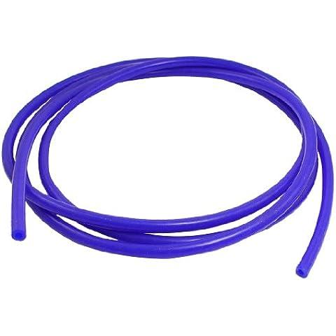 2,4 Metros Silicona Azul Tubo De Vacío tubo 8mm Diámetro para coche