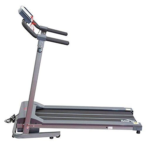 Homcom Laufband Elektrisches mit LED Display Heimtrainer Fitnessgerät 500 W, B1-0094 - 3