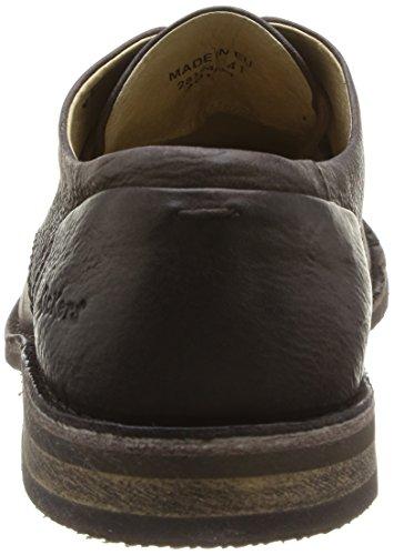 Kickers Edgar, Chaussures Lacées Homme Marron (Marron Foncé)