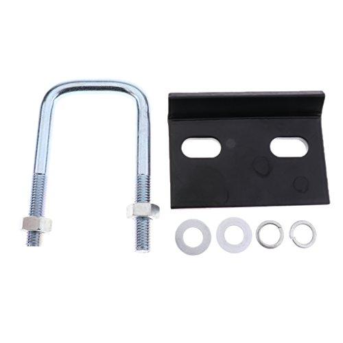 Sharplace Anhängerkupplung Empfänger Tube Stabilisator Rückseite Besten Sperren Halsband, Dirt Bike, Plattform, ATV, Roller, Rollstuhl Aftermarket-Teil -