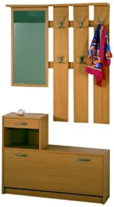 Posseik 1398 08 garderobe buche nachbildung for Garderobe buche nachbildung