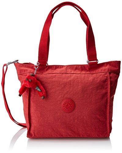 Kipling Damen NEW SHOPPER S Tote, Rot (Spicy Red C), 42x27x13 cm